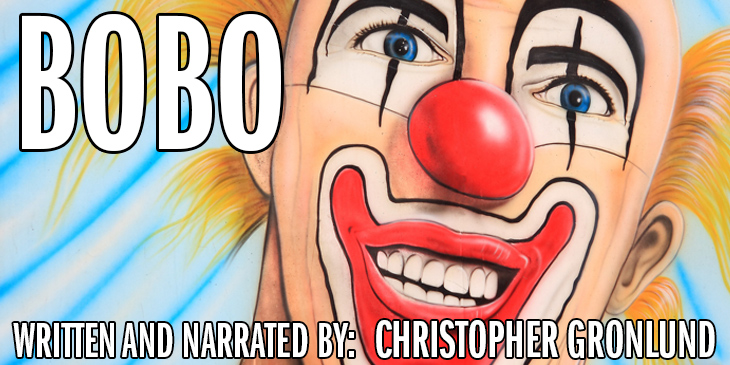"Painted clown face - Not about Lumberjacks: ""Bobo"""